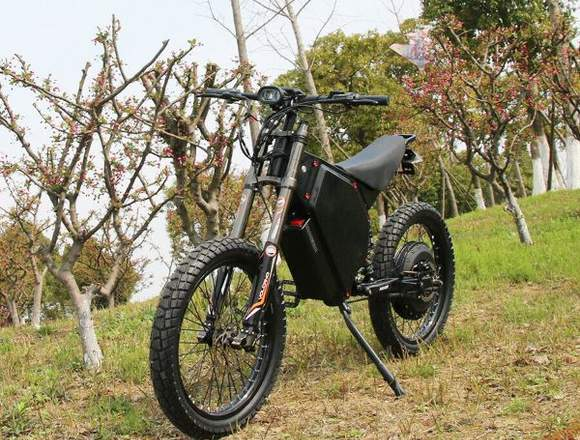 Bicicleta de montaña eléctrica 12000w / 72v