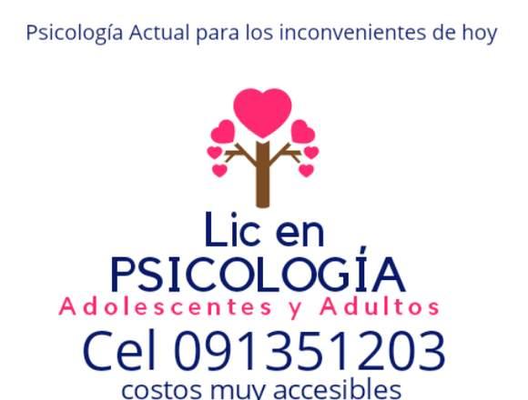 LIC EN PSICOLOGIA (PSICOLOGA)