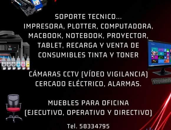 SERVICIO Y REPARACIÓN DE COMPUTADORAS