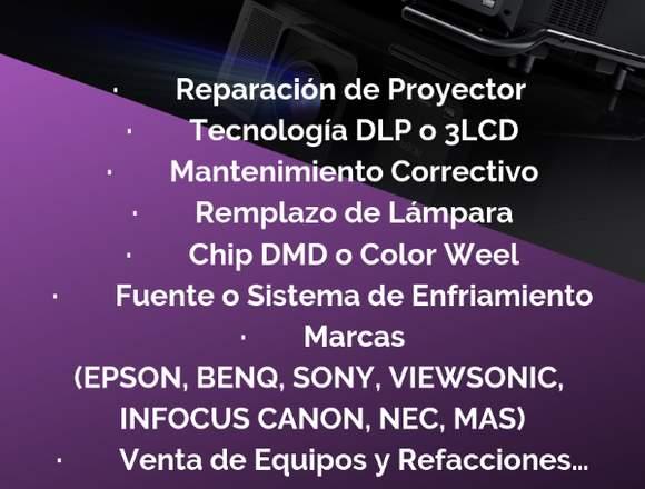 REPARACIÓN DE PROYECTORES