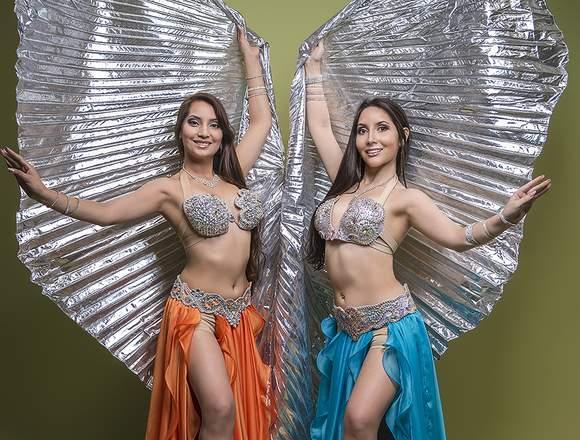 Bailarinas árabes para eventos