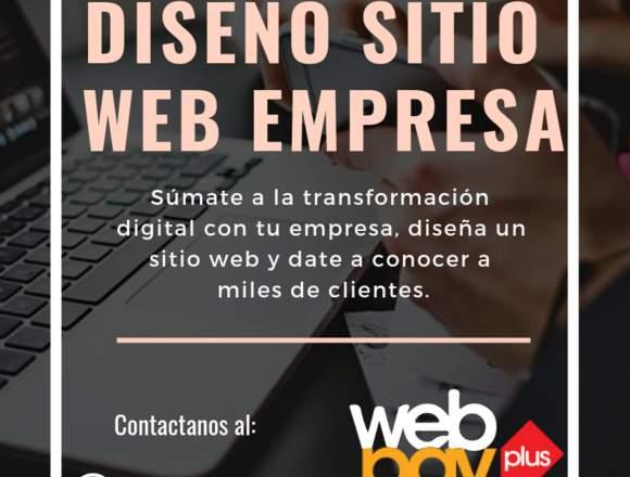 DISEÑO WEB PARA EMPRESA