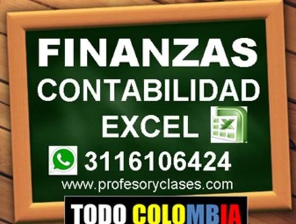 Profesor particular Contabilidad Finanzas Medellin