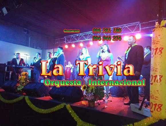 Show Grupo Musical para Matrimonio Orquesta