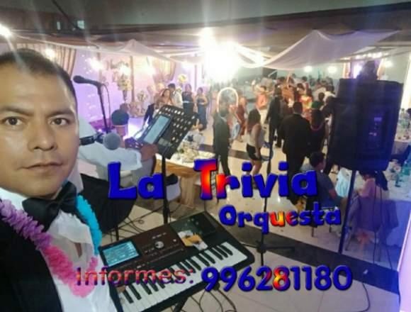 Orquesta Show para Fiestas Matrimonios Bodas