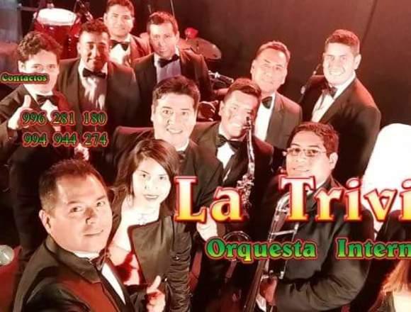 Orquesta para fiestas Matrimonios Orquesta en vivo