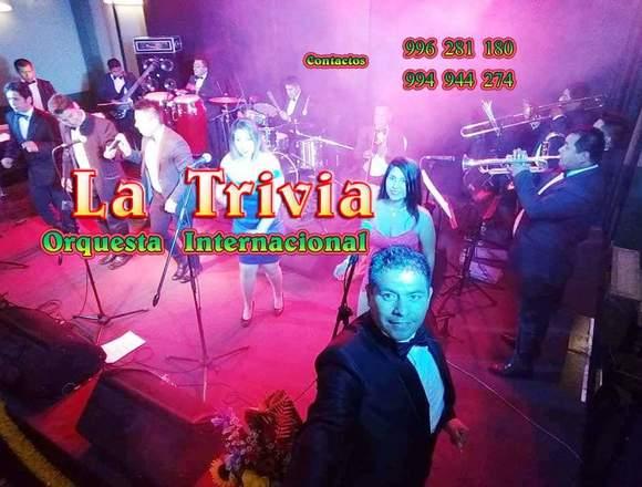 Grupo musical Orquesta Música Variada La Trivia