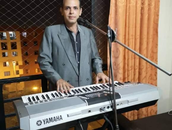 ALAN LATIN SHOW Tecladista Cantante Show en Vivo!