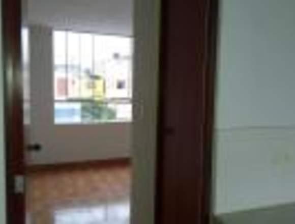 Alquilo mini departamento nuevo San Borja