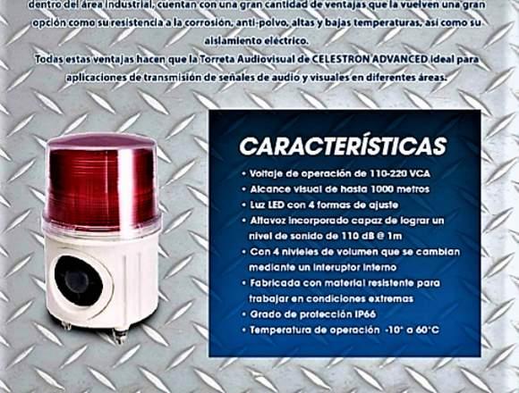 Torreta Audiovisual Marca Celestron