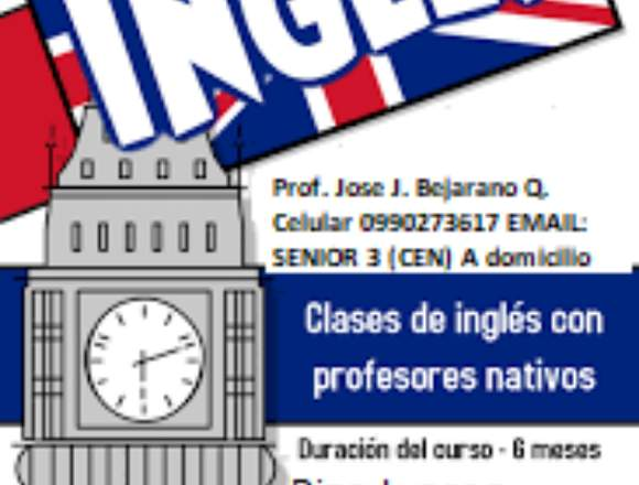 PROFESOR DE INGLES SENIOR 3 Horarios Flexibles