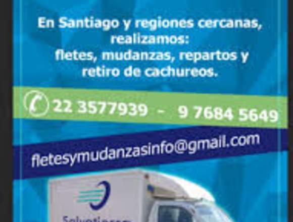 Fletes y mudanzas en Santiago