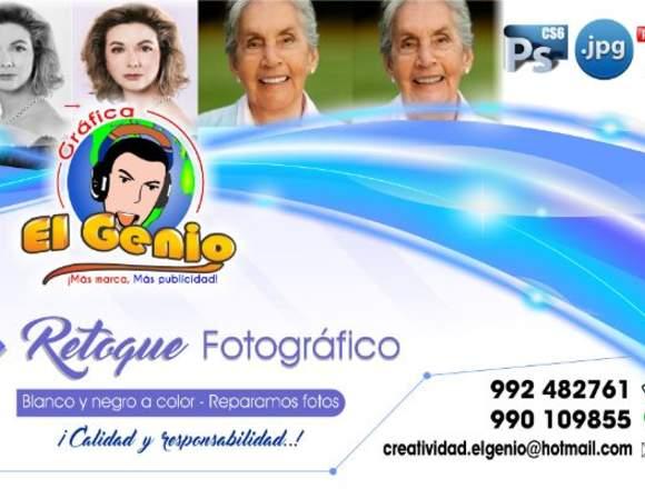 DISEÑO GRAFICO PUBLICITARIO - RETOQUE DE FOTOS