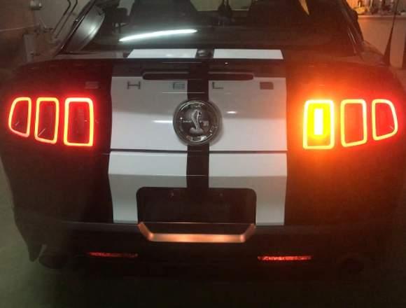 Mustang intermitentes amarillos led secuencial