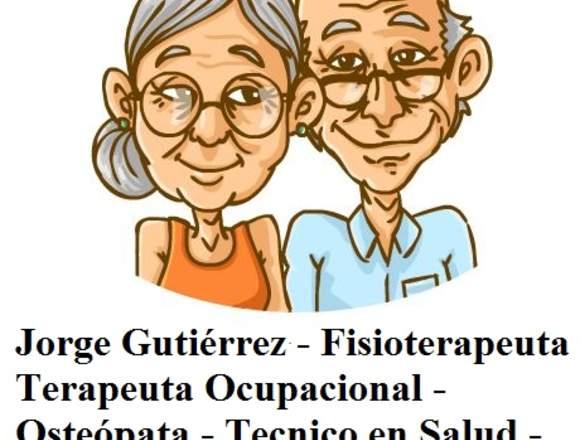 Fisioterapeuta especializado personas mayores