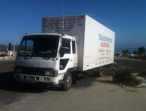 servicio de mudanzas desde Arica a Punta Arenas
