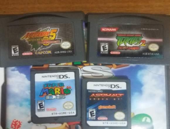 Colleccion de Juegos de GBA y DS