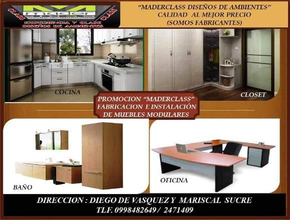 Fabricación e Instalación de Muebles