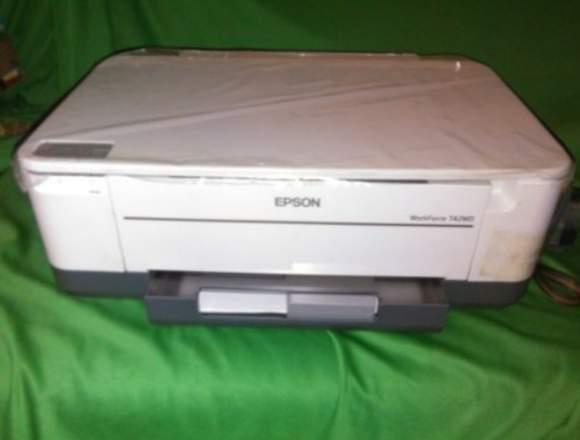 REMATO 2 Impresoras-(Epson T42wd + Impresora Hp) .
