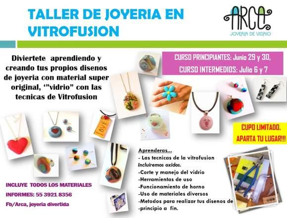 CURSO DE JOYERIA DE VITROFUSION