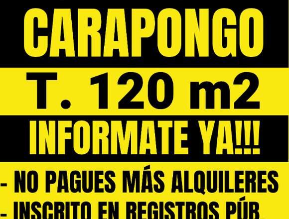 REMATE TERRENO EN SAN ANTONIO DE CARAPONGO