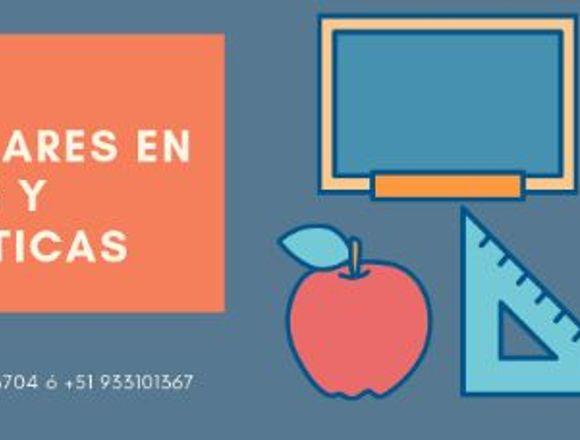 CLASES PARTICULARES DE CIENCIAS Y MATEMÁTICAS