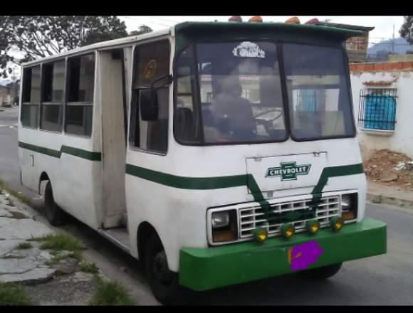 Vendo autobús Chevrolet