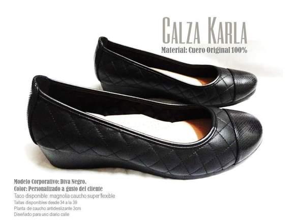 zapatos bajitos comodos de cuero