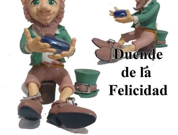 DUENDES, HADAS, FIGURAS DE ACCIÓN, VELAS TALLADAS