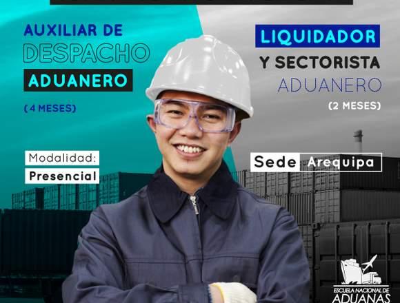 SEDE AREQUIPA AUXILIAR DE DESPACHO + LIQUIDADOR