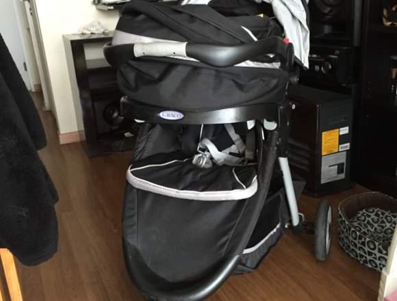 Vendo coche marca Graco Travel System