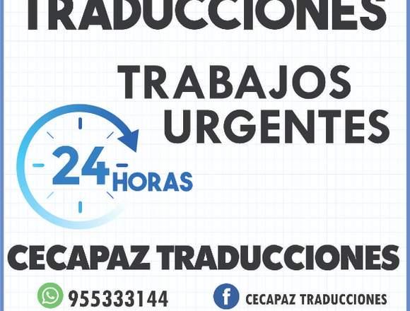 TRADUCCIÓN  URGENTE DE DOCUMENTOS,PROFESIONALES