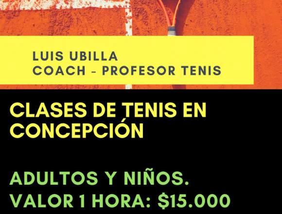 CLASES DE TENIS EN CONCEPCIÓN