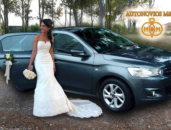 Alquiler de auto para novia, novios, matrimonio
