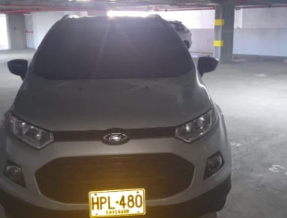 Se vende carro FORD ECOSPORT modelo 2014