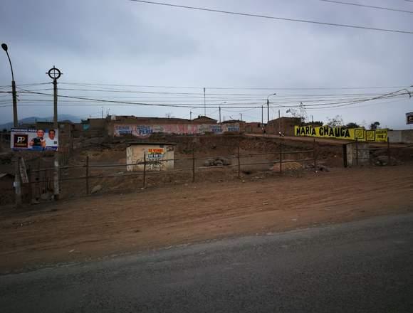 Vendo terreno en Lomas de Carabayllo