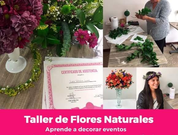 Taller de Flores Naturales