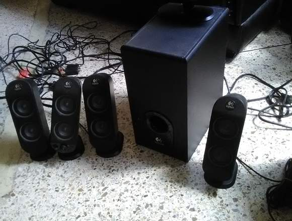 Sonido Logitech 5.1 X 530