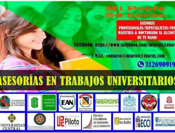 Asesorias Universitarias Miprofe24Horas