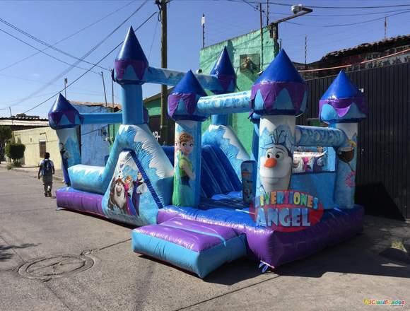 venta de brincolines mega impreso escalador