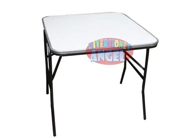 Mesa Cuadrada de Plastico ABS Reforzado 2