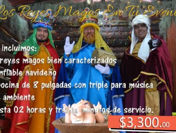 Los Reyes Magos En Tu Evento