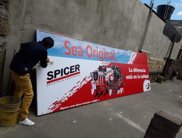 letreros publicitarios de alto impacto visual