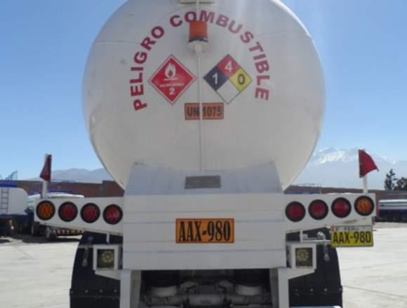 TANQUE CISTERNA DE GLP DE 15 000 GALONES PRIMARIO