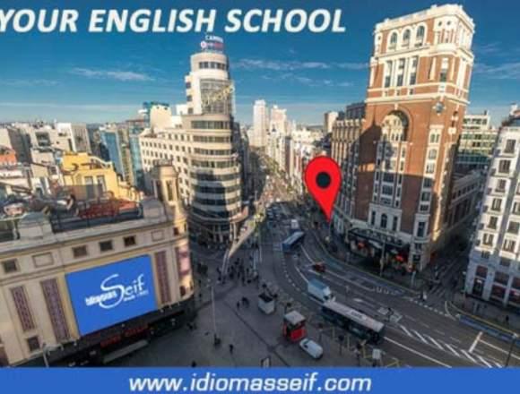 Clases de inglés. Madrid Centro
