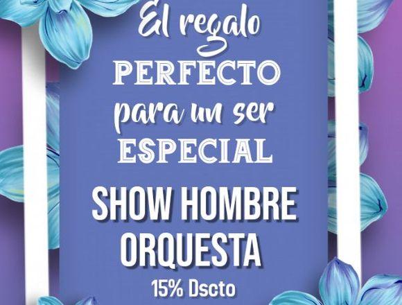 Oferta especial de Hombre orquesta