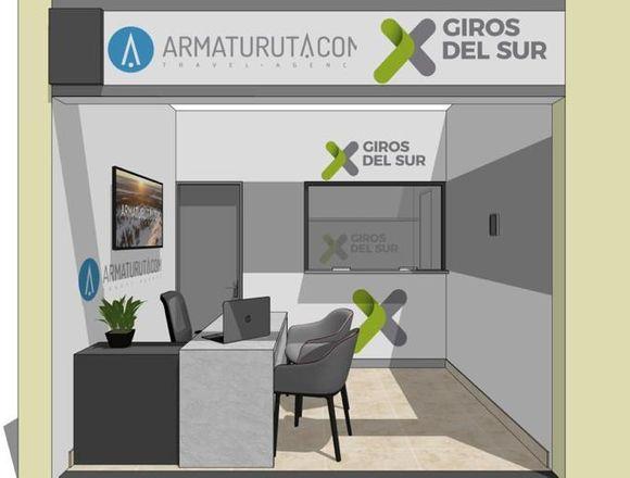 Diseños interior, Casas de Cambio,Proyectos
