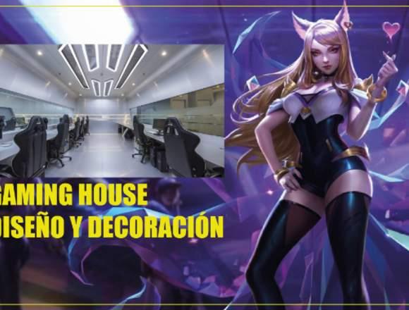 GAMING HOUSE DISEÑO Y DECORACIÓN - TODO PERÚ