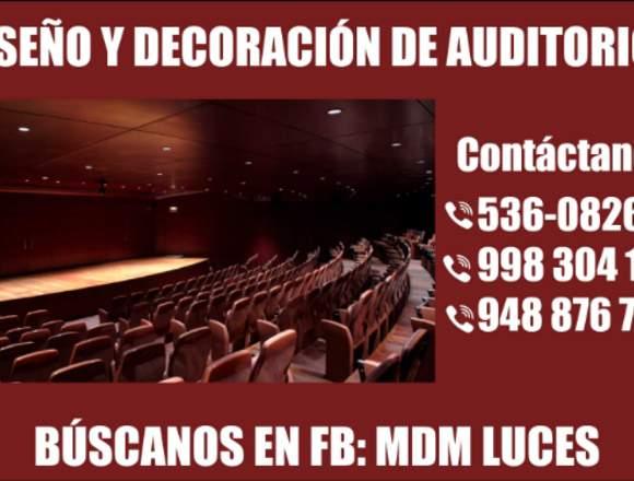 AUDITORIO DISEÑO Y DECORACIÓN - TODO PERÚ