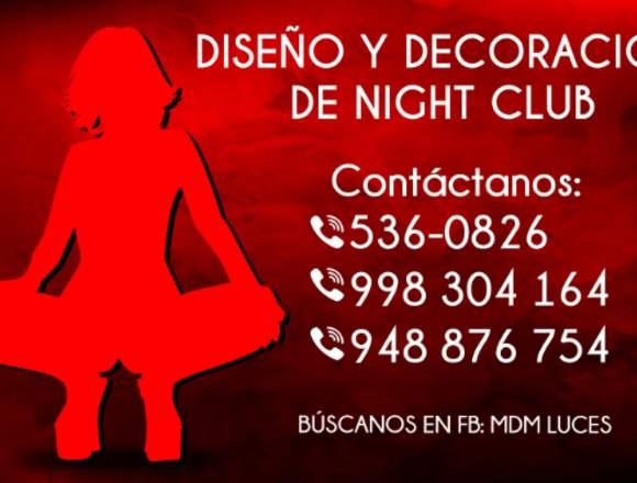 NIGHTCLUB DISEÑO Y DECORACIÓN - TODO PERÚ